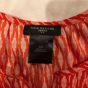 Ann Taylor Tops - Fall Tank